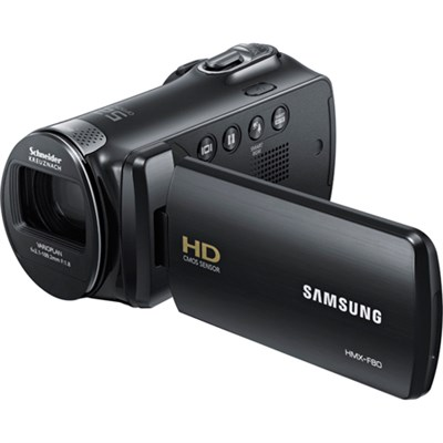 HMX-F80BN HD Flash Memory Camcorder (Black) - OPEN BOX