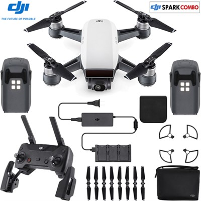DJI Spark Quadcopter Fly More Kit + $75 GC