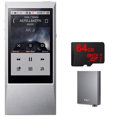 AK Jr. Hi-Res 64GB Music Player w/ FiiO E12 Headphone Pro Amps Bundle