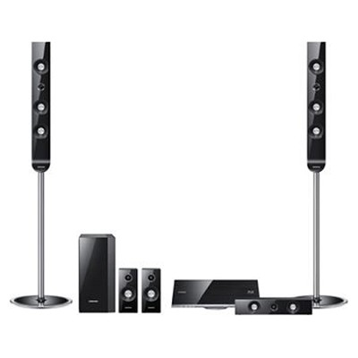 HT-D7530W - Home Theater Receiver 1000 Watt DVD System 5.1 Channel