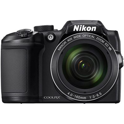 COOLPIX B500 16MP 40x Optical Zoom Digital Camera w/ WiFi (Black) Refurbished