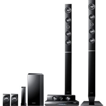 HT-D6730W Home Theater Rec. 1300 Watt 3D DVD System 7.1 Channel WIFI - OPEN BOX