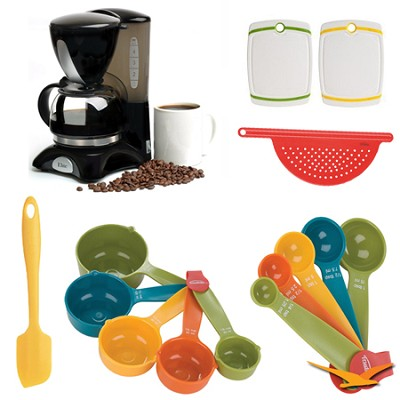 Elite Cuisine 4-Cup Coffee Maker with Pause and Serve Deluxe Bundle