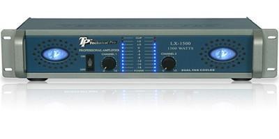 Pro Amplifier 1500 Watts (Blue/Silver)