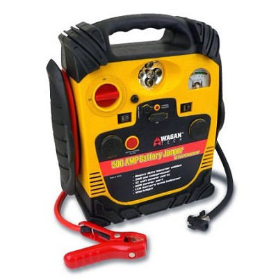2544 500 Amp Battery Jumper with Air Compressor