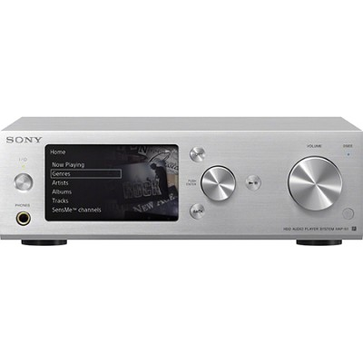 HAP-S1/B 500GB HDD Hi-Resolution Silver Music Player System