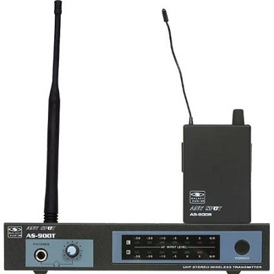 AS-900 Wireless Personal Monitor System K1/630.2 MHz