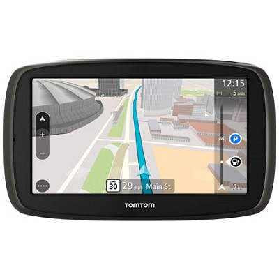 GO 60 S Portable 6` inch Touch Screen Vehicle GPS with 3D Maps