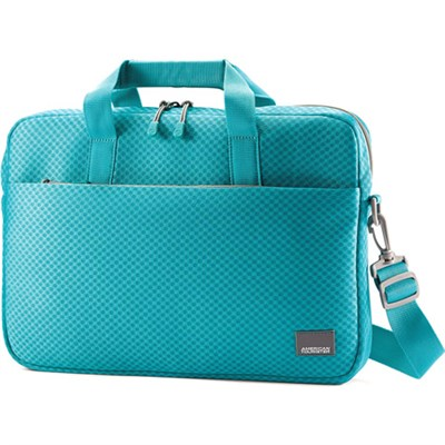 15.6` Air Mesh Shuttle Turquoise / Grey Computer Bag