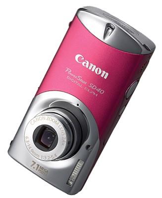Powershot SD40 Digital Camera (Rose)
