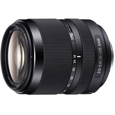SAL18135 - 18-135mm f/3.5-5.6 DT SAM Silent Zoom Lens