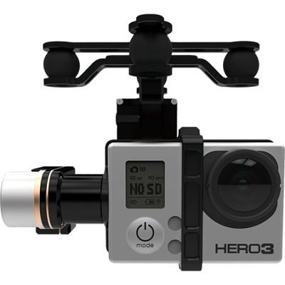 Zenmuse H3-3D GoPro Hero 3/4 - 3 Axis Brushless Motor Gimbal for Phantom