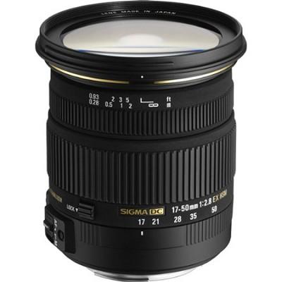 17-50mm f/2.8 EX DC OS HSM FLD Standard Zoom Lens for Canon DSLR Camera