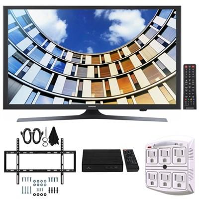 UN49M5300- 49-Inch Full HD Smart LED TV w/ Wall Mount Bundle