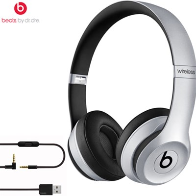 Solo2 Wireless On-Ear Headphones MKLF2AM/A (Space Gray) - Certified Refurbished