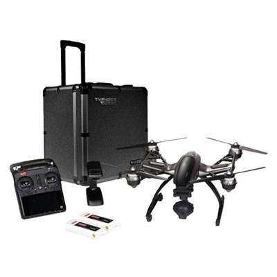 Typhoon Q500 4K Quadcopter Drone UHD w/Alum Trolley Case/2nd Battery - OPEN BOX