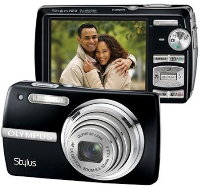 Stylus 820 Digital Camera (Black)