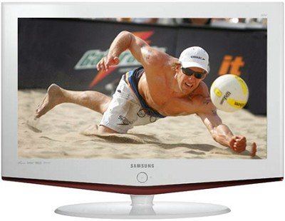 LN-S2652D 26` High Definition LCD TV w/ 2 HDMI inputs (white frame)