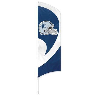 Cowboys Tall Team Flag w Pole