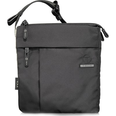 T-Tech Civilian Enzos North/South Slim Crossbody (Black Ice)
