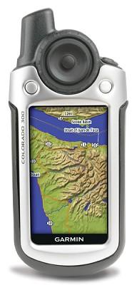Colorado 300 Personal Handheld GPS Navigator w/ Shade Relief