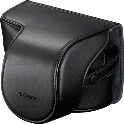 Alpha NEX Lens Jacket Case (Black)