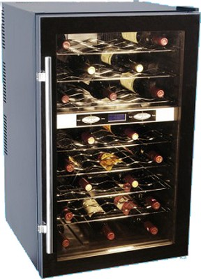 Haier 40-Bottle Capacity Thermal Electric Wine Cellar- HVTB40DPABS