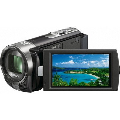Handycam DCR-SX45 Palm-sized Black Camcorder - OPEN BOX