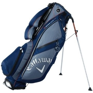 Golf Hyper-Lite 3.0 Stand Bag Navy/Gray/Orange