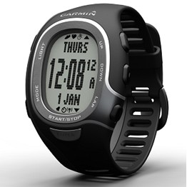 FR60 Fitness Watch Men's Black with Heartrate Monitor