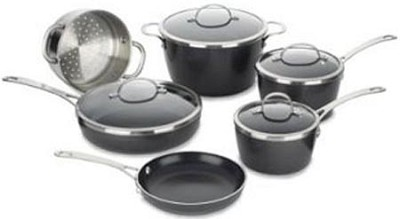 Greenware Eco-Friendly Nonstick 10 Piece Stainless Steel Cookware Set