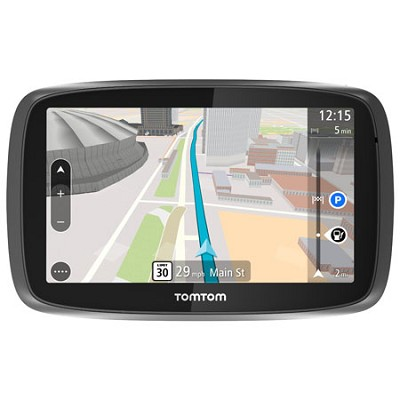 GO 500 Portable 5` Inch Touch Screen Vehicle GPS with 3D Maps