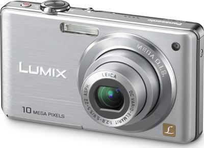 DMC-FS7S LUMIX 10.1 MP Compact Digital Camera w/ 4x Optical Zoom (Silver)