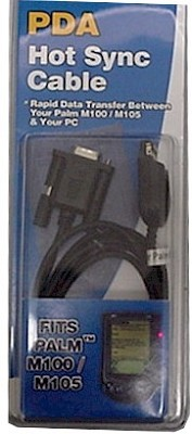 Hot Sync Cable for Palm series PDA's