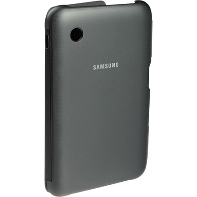 Synthetic Leather Book Cover (Black) for 7` Galaxy Tab 2