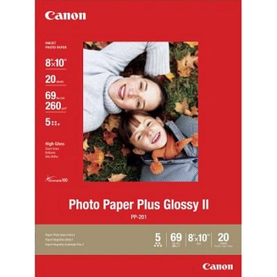 Photo Paper Plus Glossy II 8` X 10` - 20 Sheets