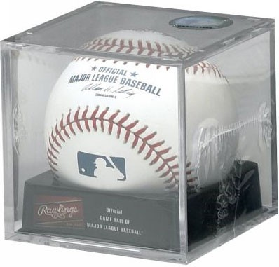 Official Major League Baseball w/ Cube Display Box included