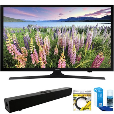 50-Inch Full HD 1080p LED HDTV (2015 Model) + Bluetooth Sound Bar Bundle