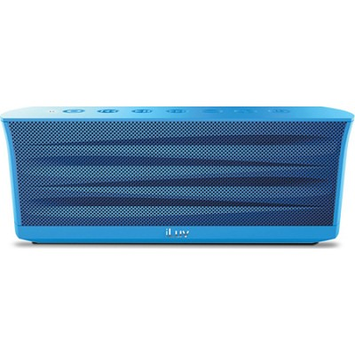 MobiOut Splash-Resistant Wireless Bluetooth Speaker with Jump-Start - Blue