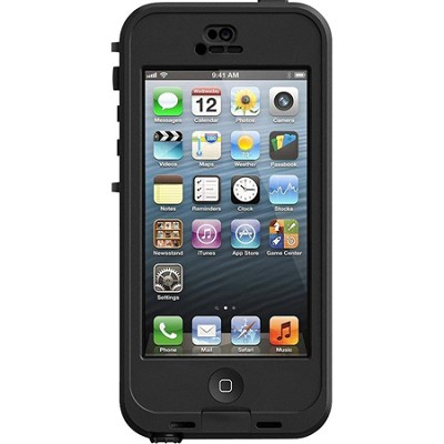 iPhone 5 Nuud Case - Black