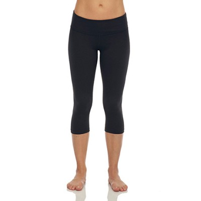 Seamless Capri Pants 6-Pack in Midnight Black ( One Size Fits All )