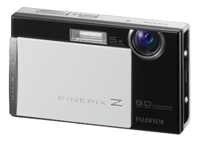 FinePix Z100fd 8 MP Digital Camera (Tuxedo Black)