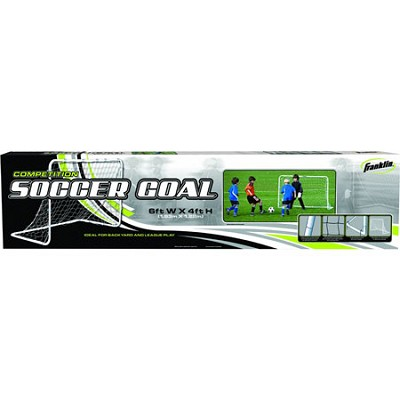 6' x 4' Competition Steel Soccer Goal