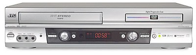 HR-XVC25 Combination progressive-scan DVD/CD player + HiFi VCR