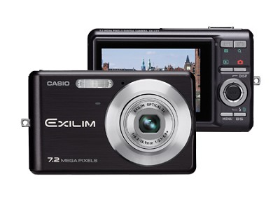 EXILIM EX-Z77 - 7.2MP Digital Zoom Camera (Black)