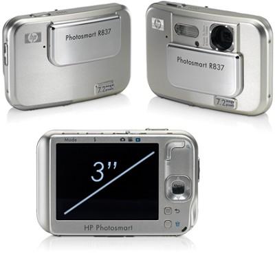 Photosmart R837 - 7.2 mega-pixel Digital Camera