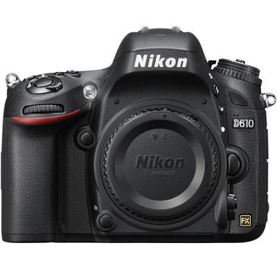 D610 FX-format 24.3 MP 1080p video Digital SLR Camera - Body Only