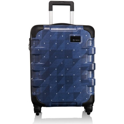 T-Tech Continental Carry On (57801)(Indigo Check)