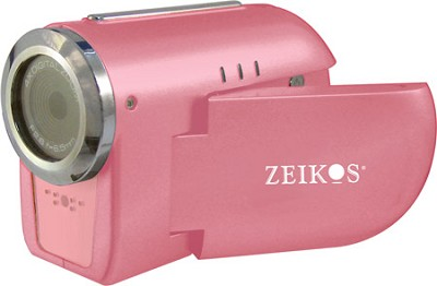 SDCZ10 3-in-1 Camcorder, Digital Camera and WebCam with 1.5` Preview LCD - Pink
