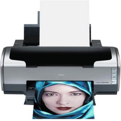 Stylus Photo R1800 Color Inkjet Printer - Prints up to 13` wide